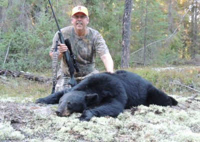 Black bear Hunting with rifles